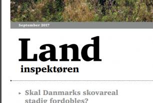 Indlæg i fagbladet 'Landinspektøren'